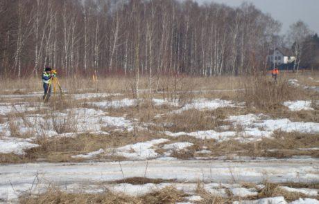Геодезические изыскания участка ад М-9 «Балтия» в Тверской области