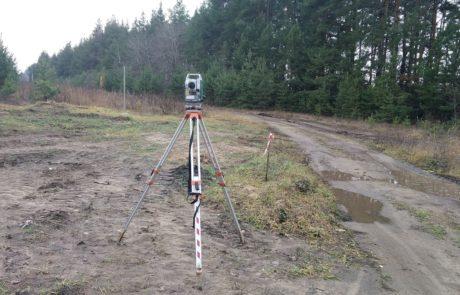 Вынос в натуру трассы газопровода в Новоусманском районе Воронежской области
